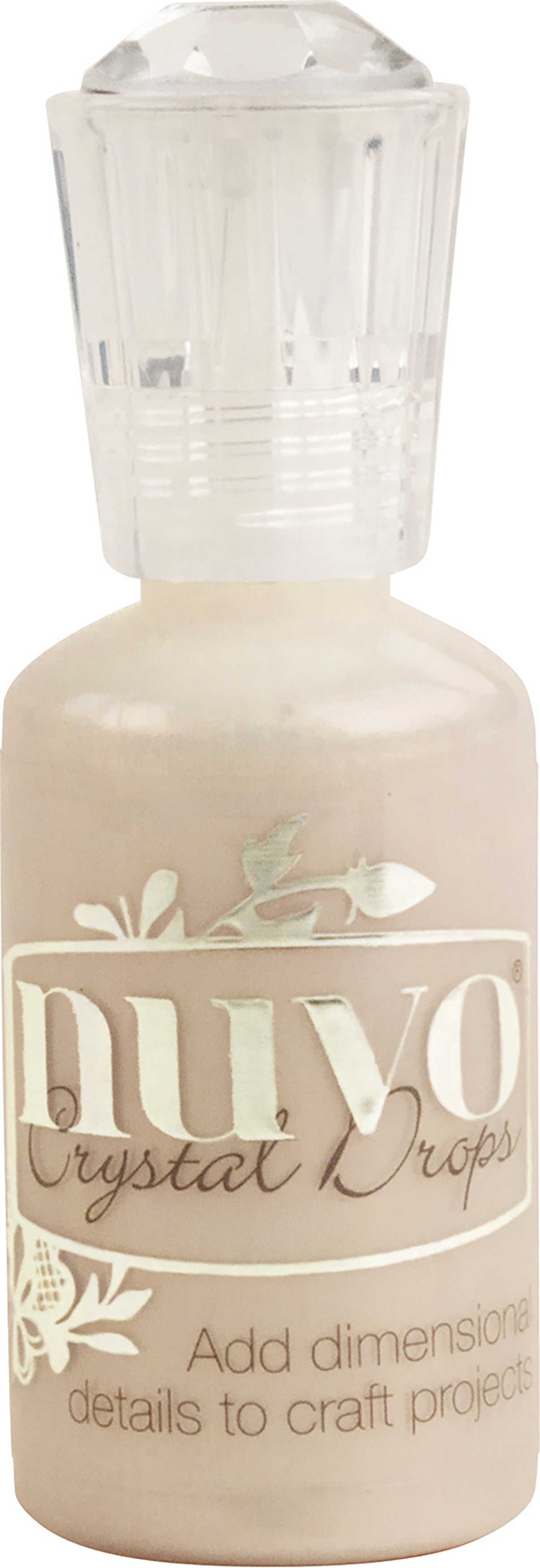 Nuvo Crystal Drops 1.1oz-Caramel Cream