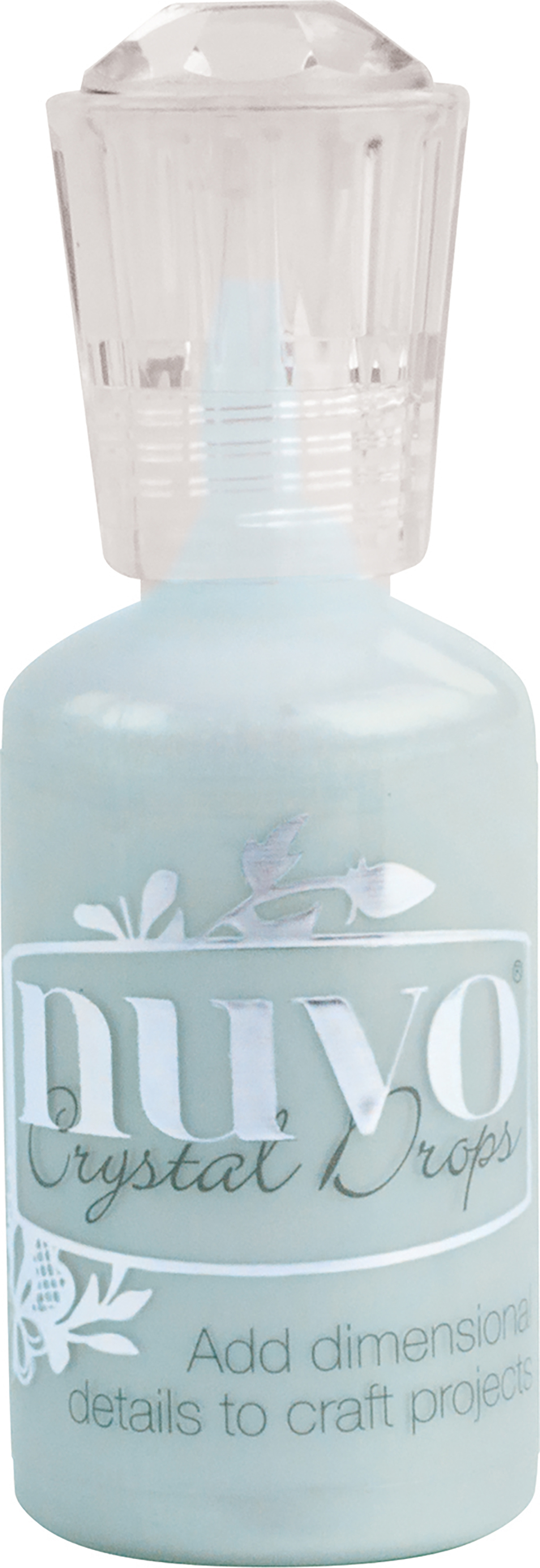 Nuvo Crystal Drops 1.1oz-Blue Babe