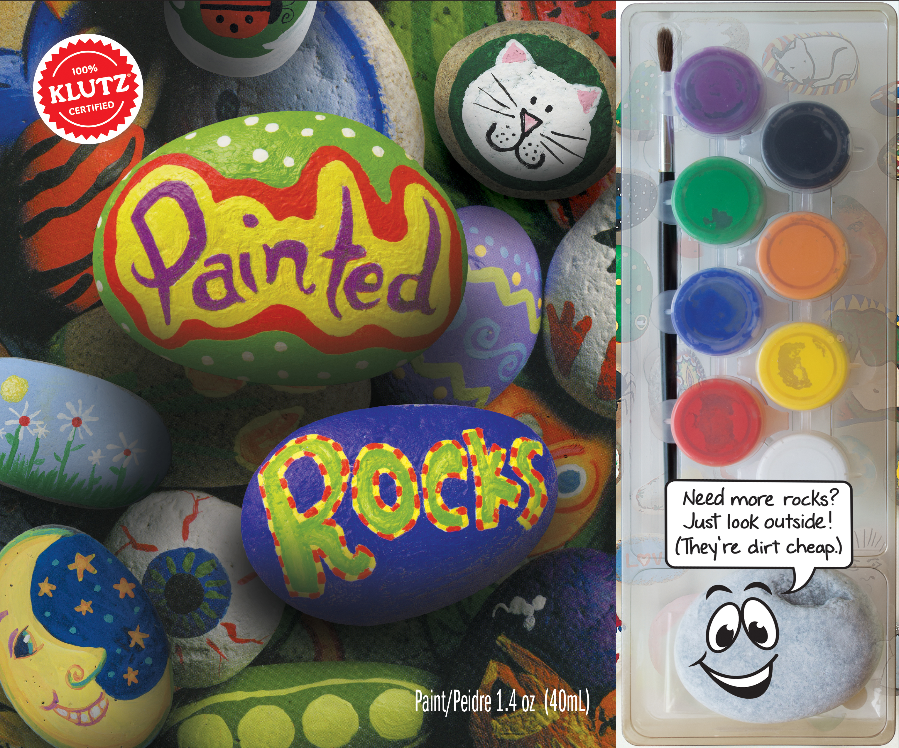Painted Rocks by Klutz Press