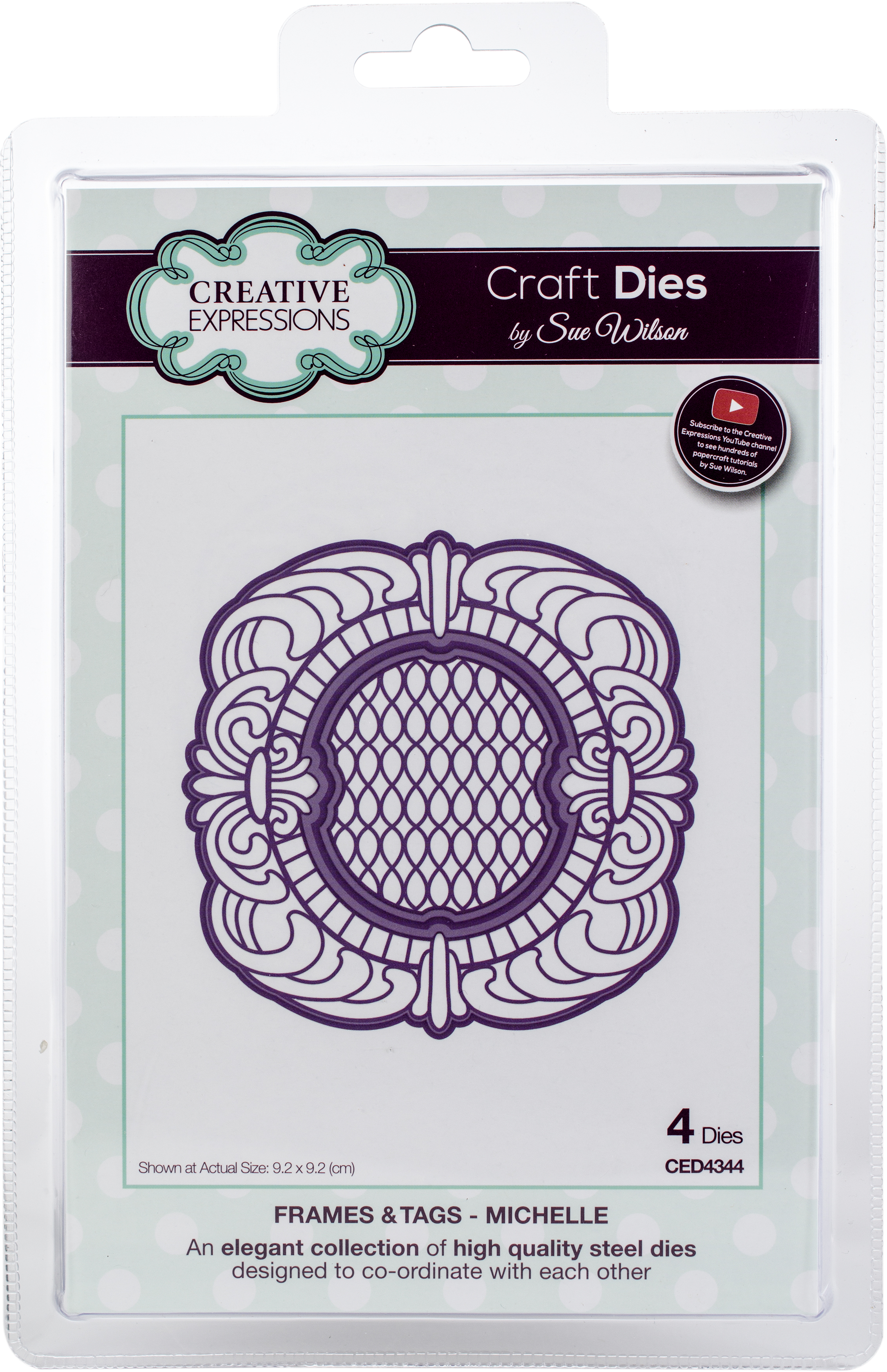 Creative Expressions Craft Dies By Sue Wilson-Frames & Tags-Michelle