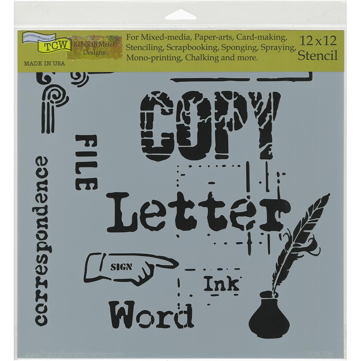 Correspondence 12x12