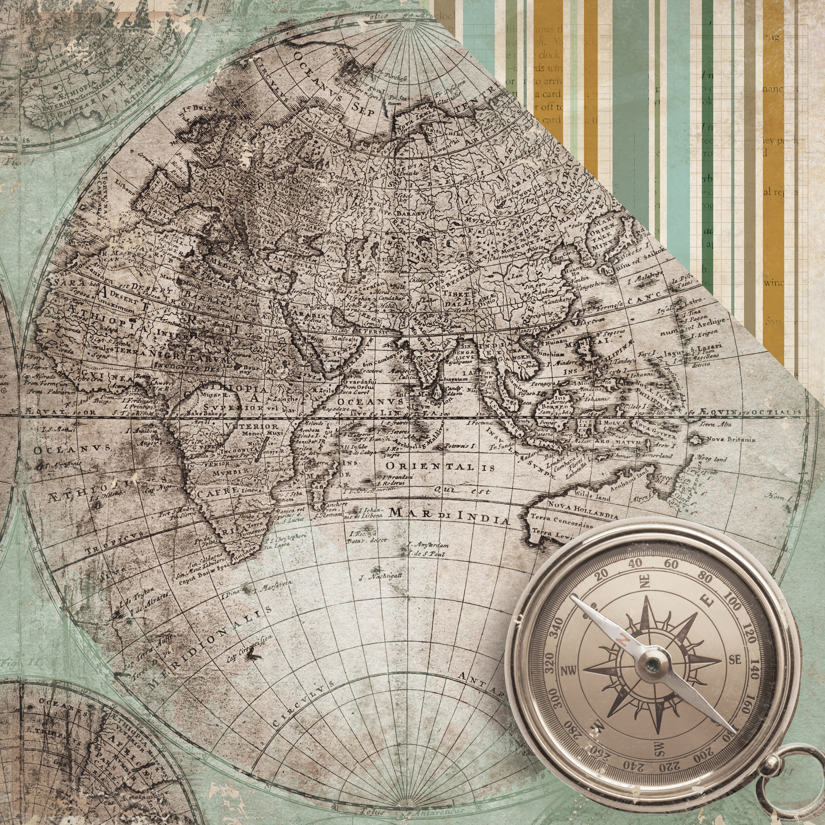 Anthology Collection - Cartography (Kaisercraft)