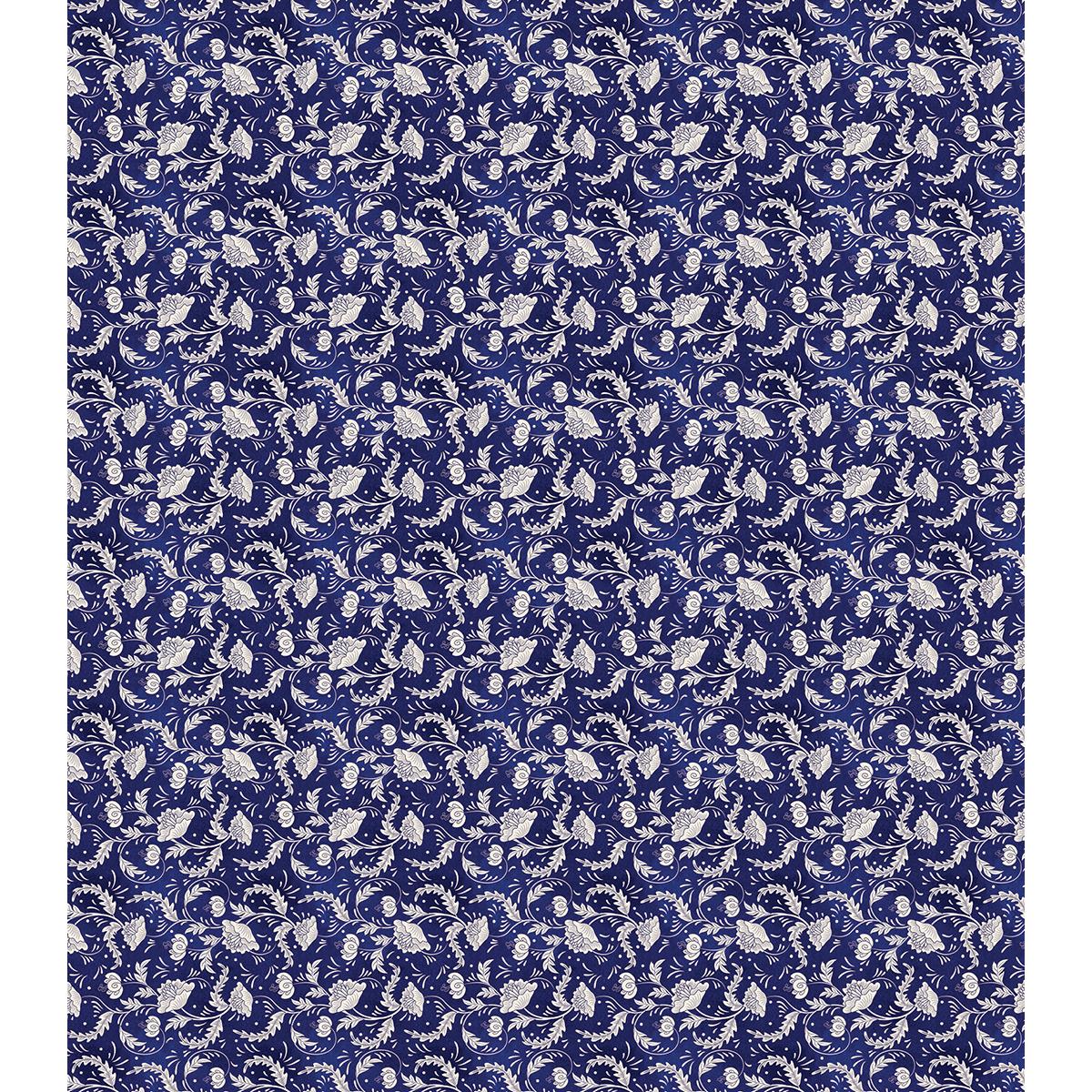 Decoupage Papers Blue Porcelain