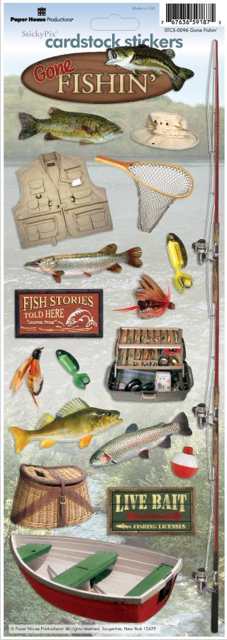 STKR - GONE FISHIN