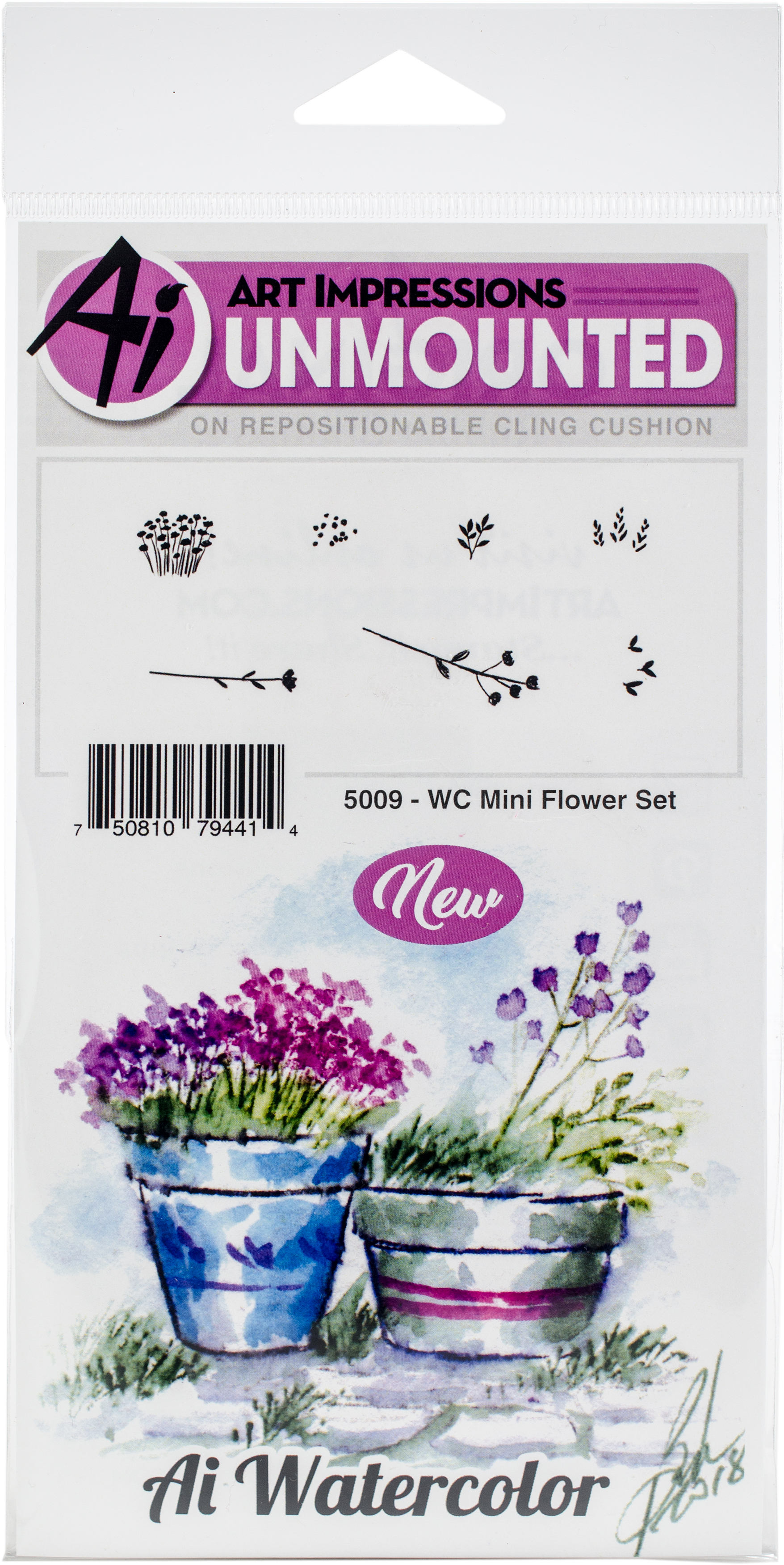 WC Mini Flower Set