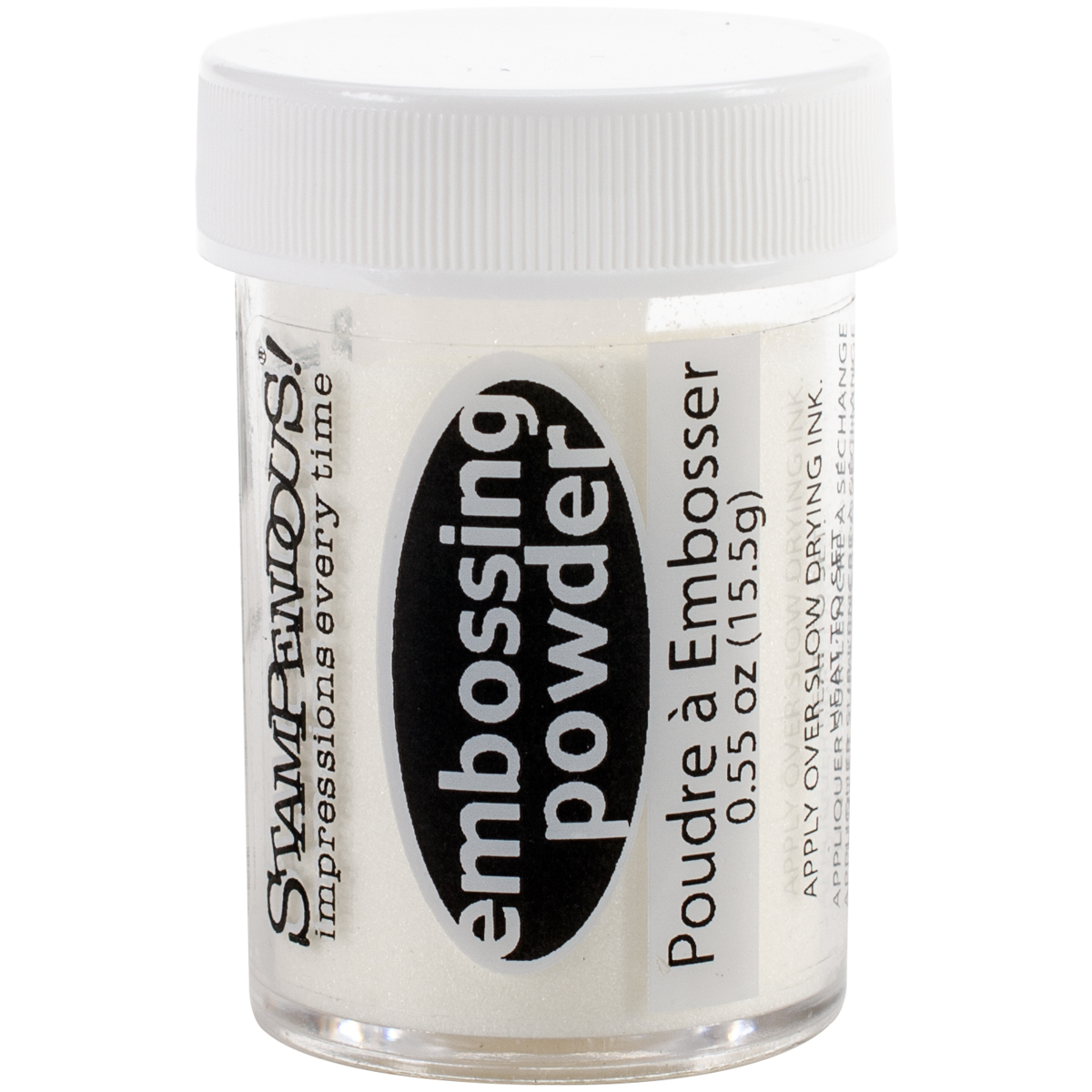 Stampendous Embossing Powder .55oz-Clear Transparent