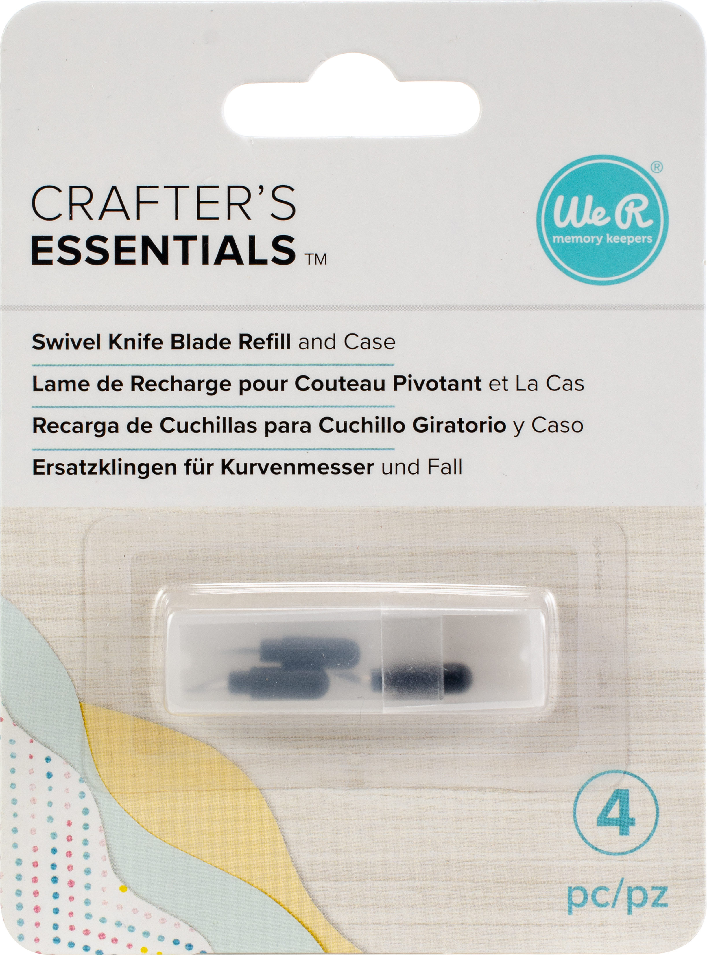We R Memory Keepers Swivel Knife Replacement Blades 3/Pkg-