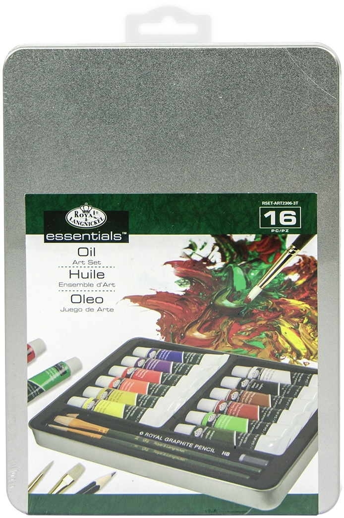 Essentials Oil Art Set  16 Pieces