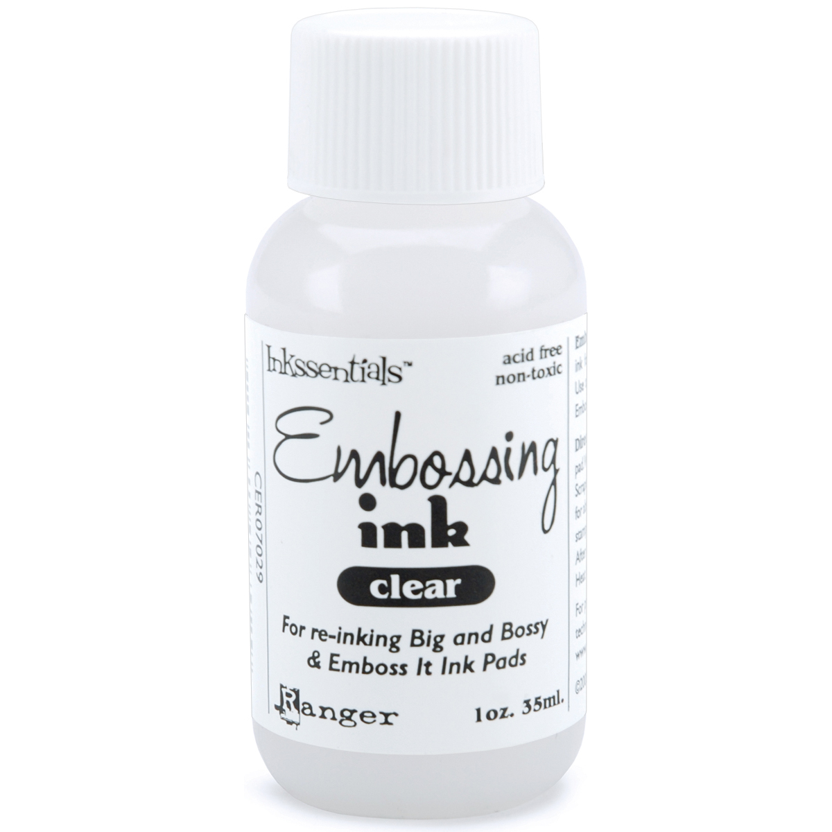 EMBOSS INK REFILL CLEAR