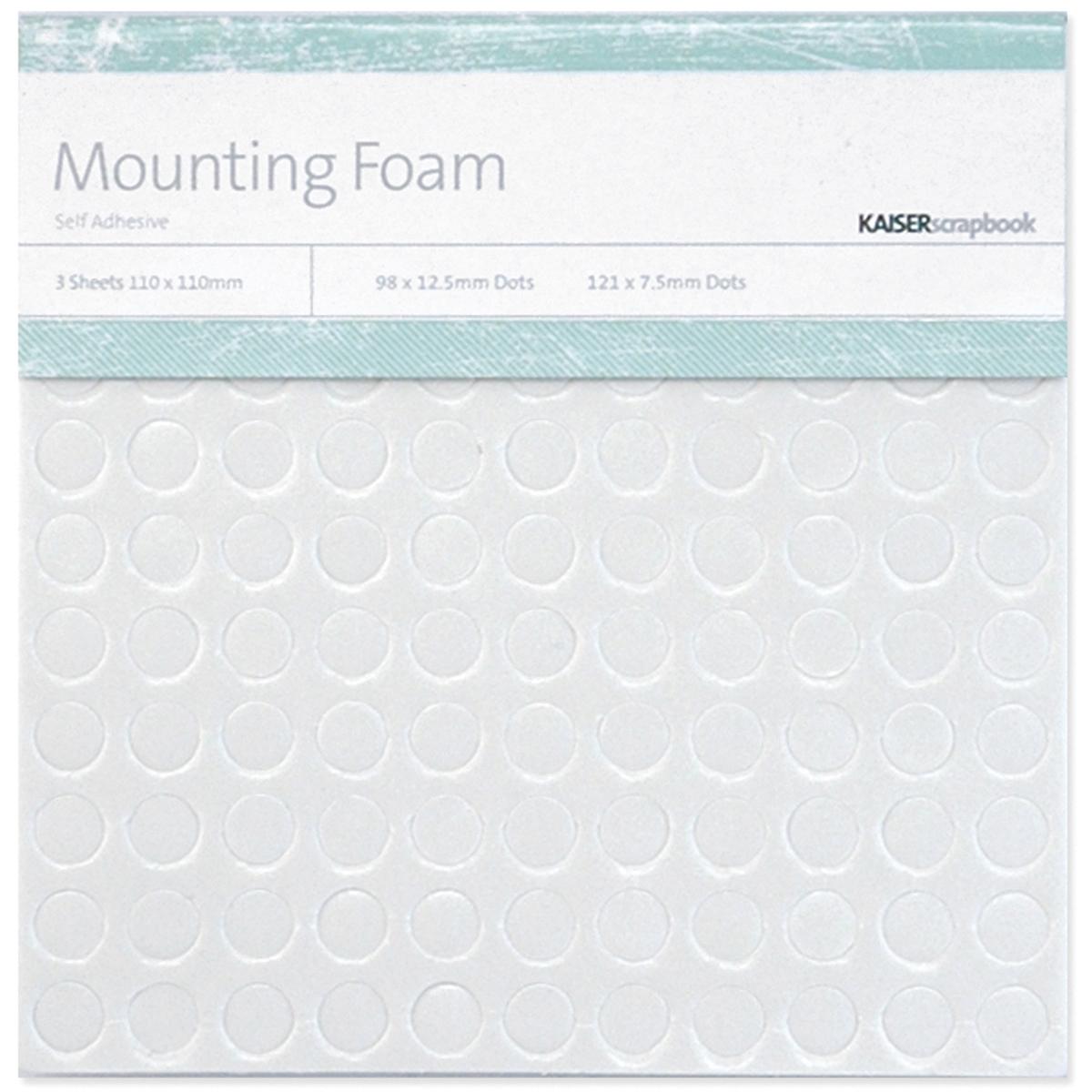 Kaiser Mounting Circle Foam