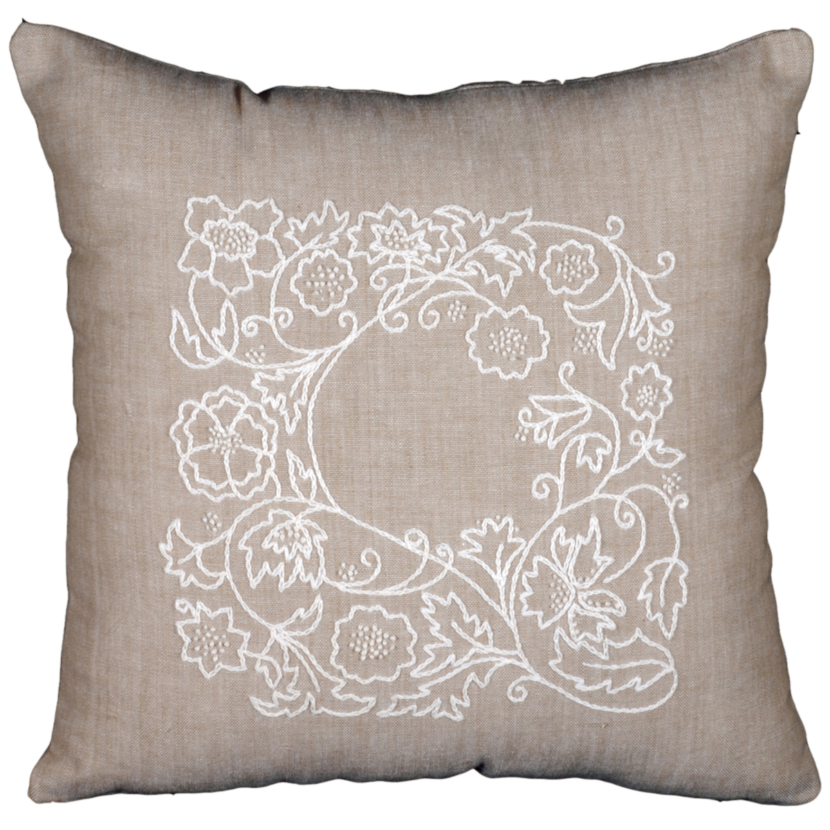 Design Works Candlewicking Kit 14X14-Romance Vine-Stitched In Thread