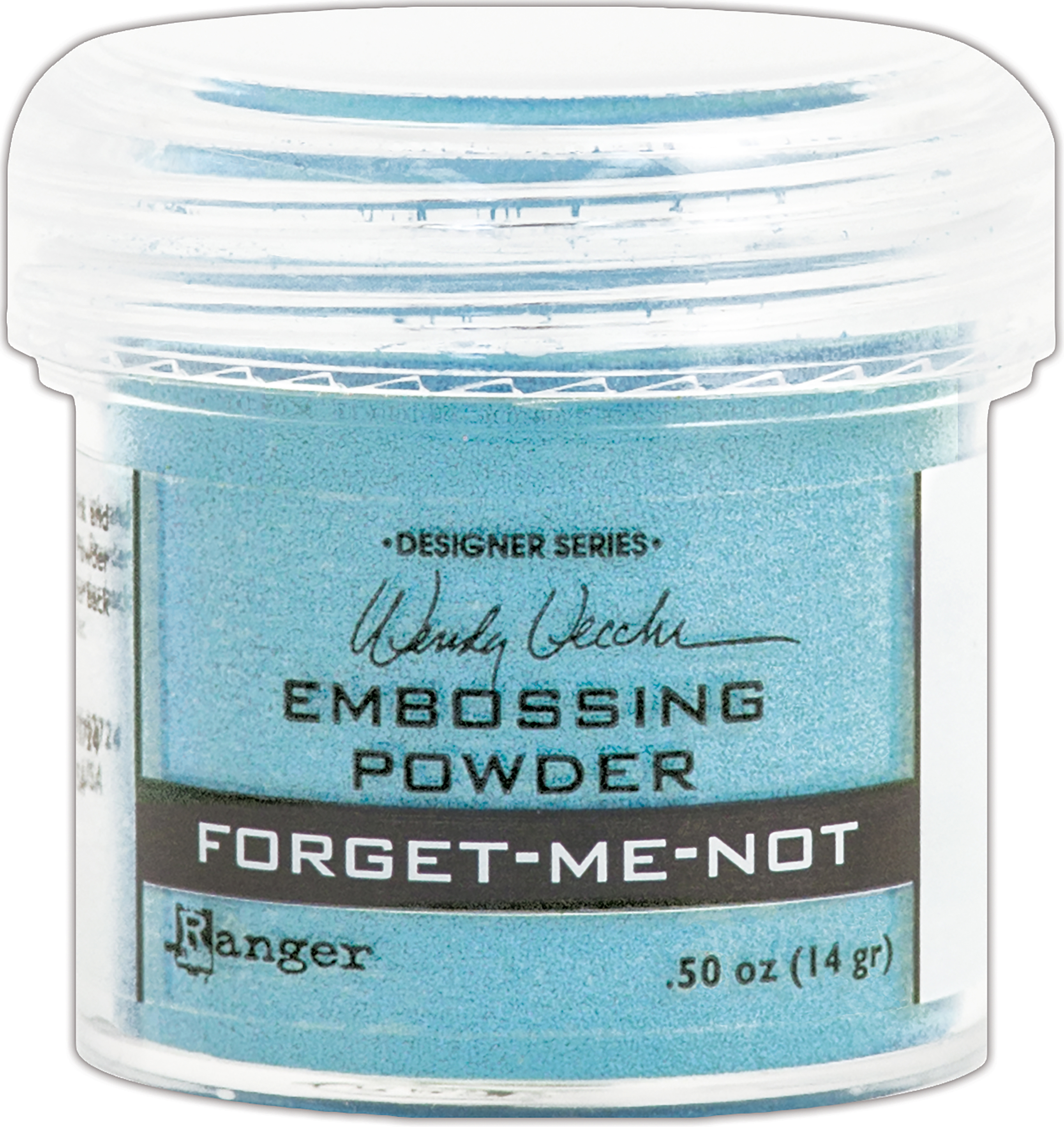 FORGET ME -EMBOSSING POWDER