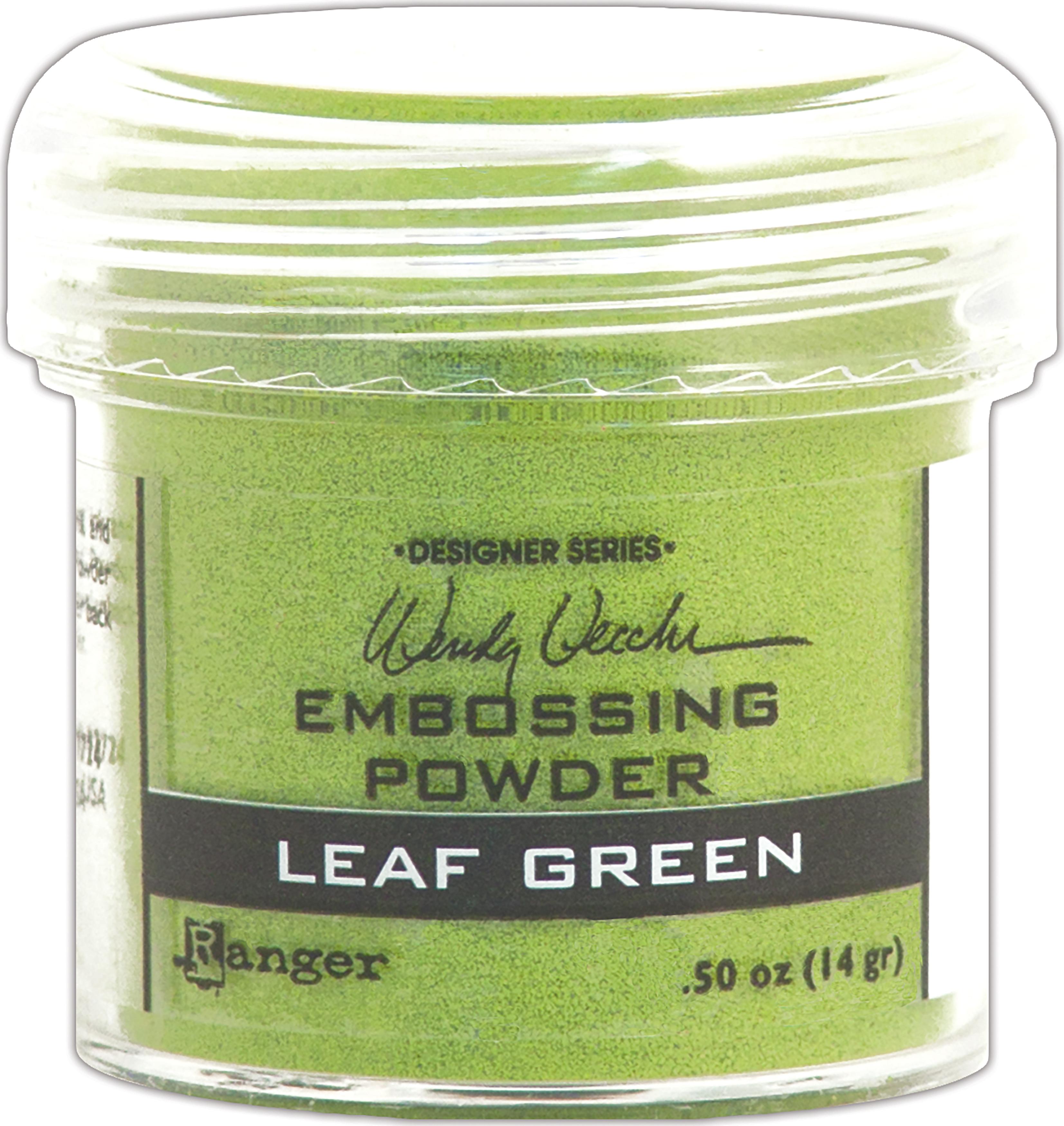 LEAF GREEN-EMBOSSING POWDER