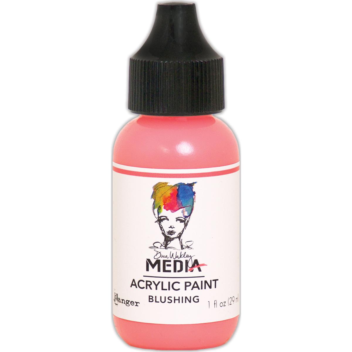 Dina Wakley Media - Heavy Body Paints - Blushing 1oz