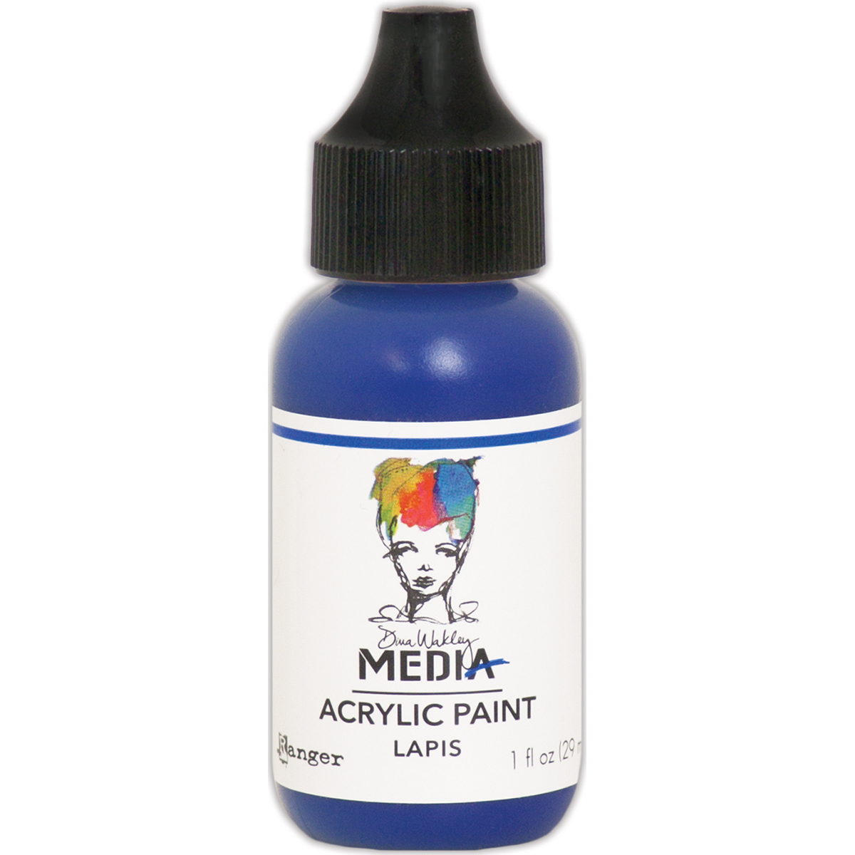 Dina Wakley Media Acrylic Paint 1oz-Lapis