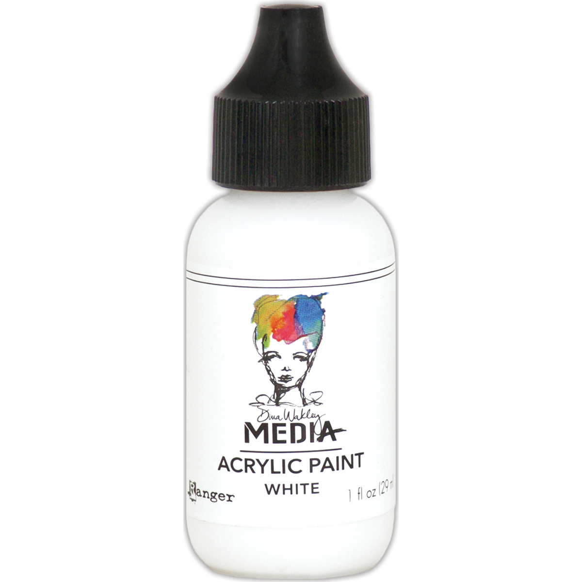 Dina Wakley Media Acrylic Paint White