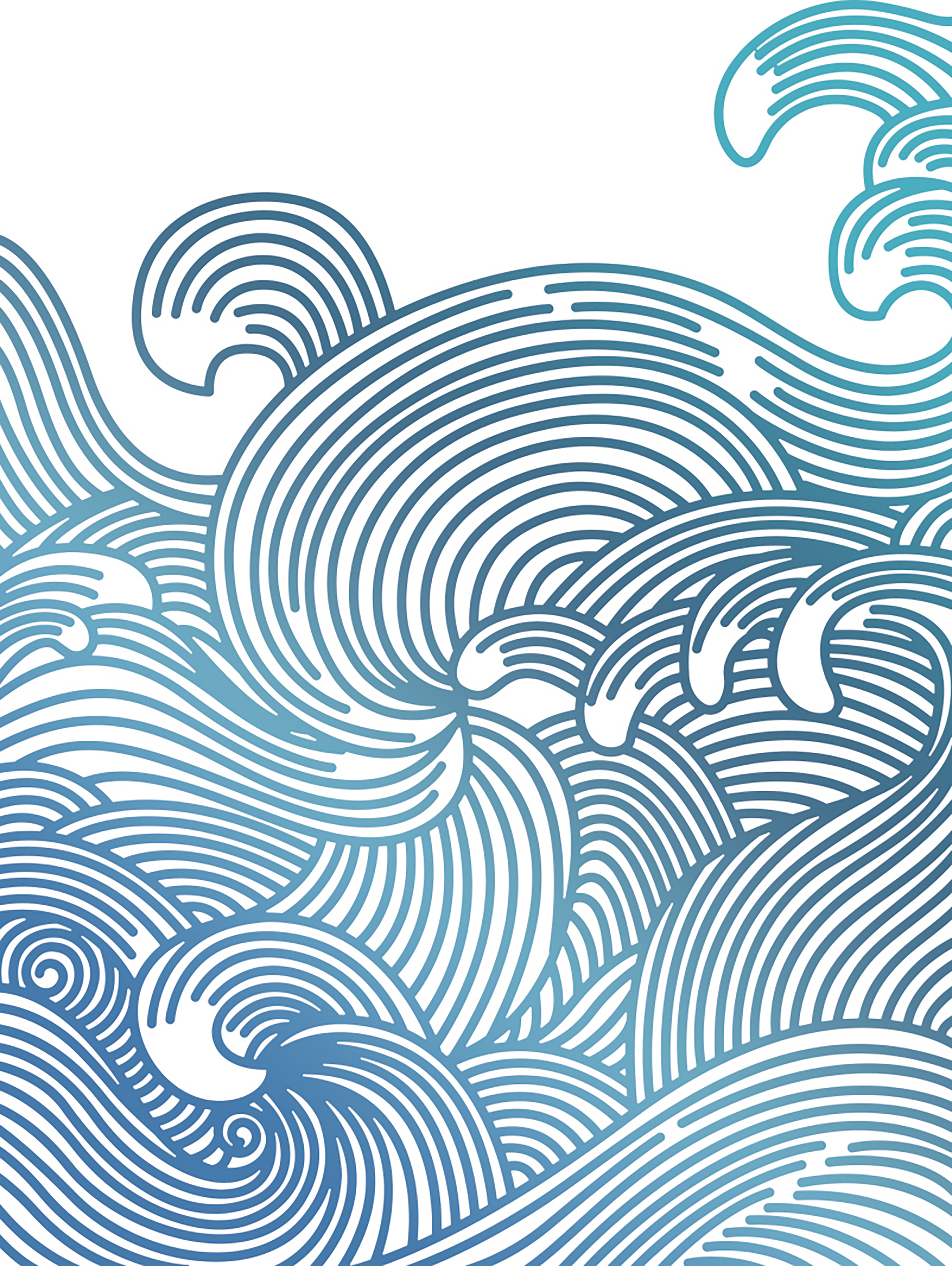 Couture Creations - Hot Foil Stamp - Swirling Seas