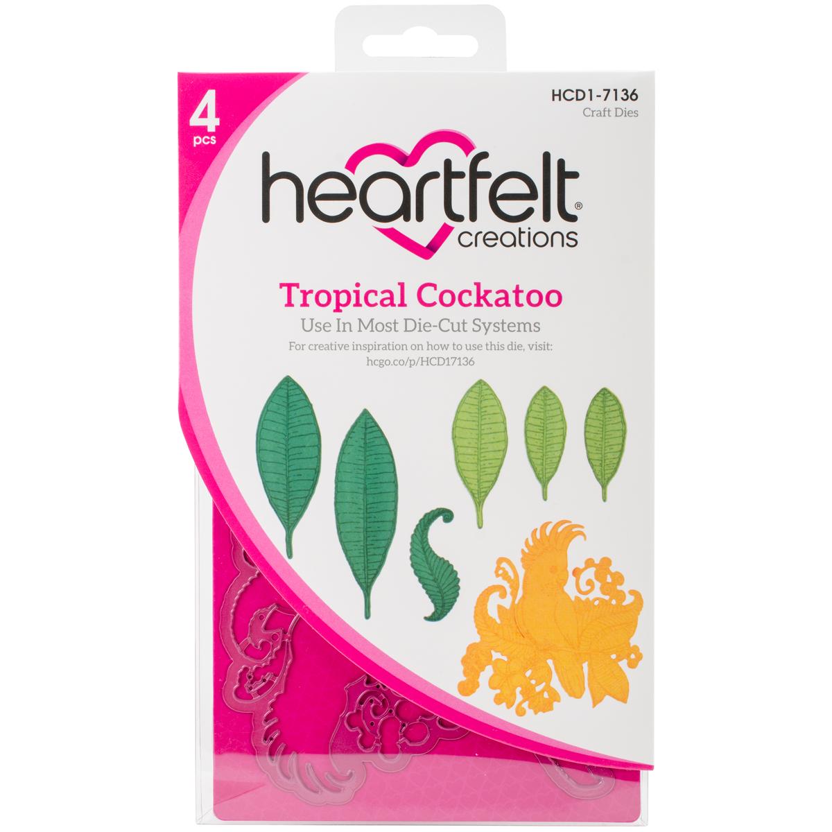 Tropical Cockatoo Die Set