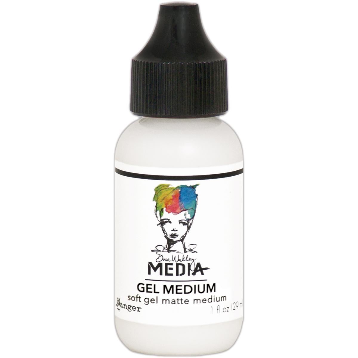 Dina Wakley Media Soft Gel Medium 1oz Tube-