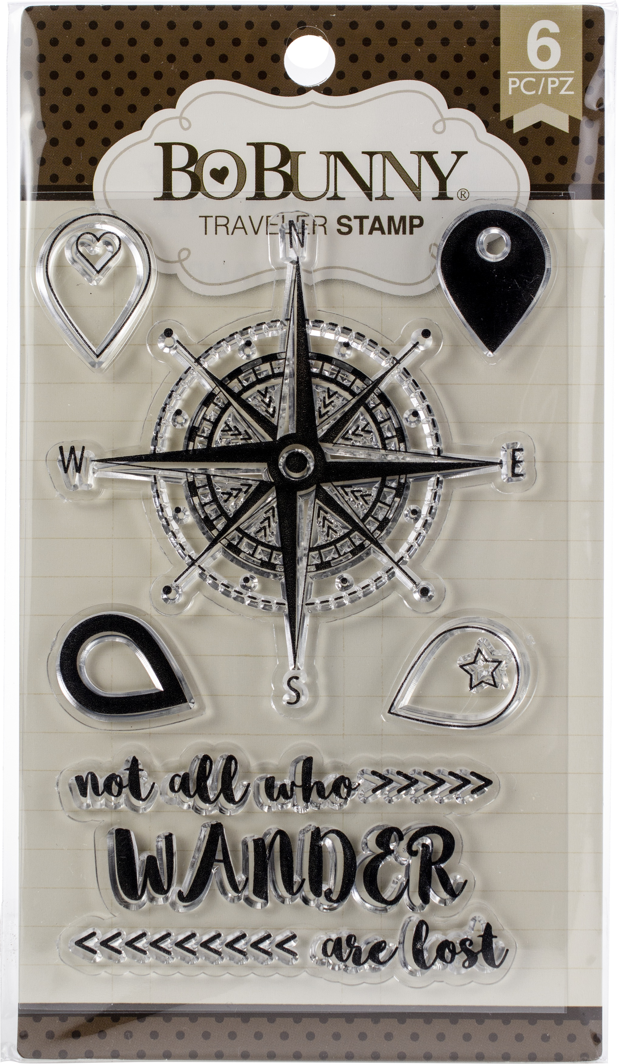 BoBunny Stamps-Traveler
