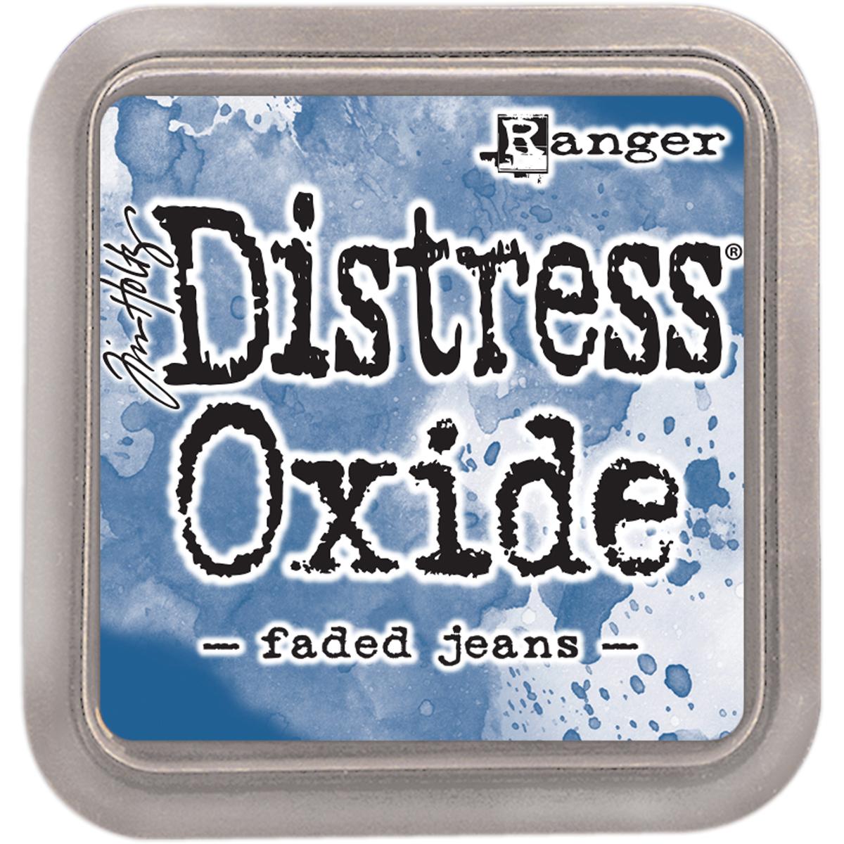 Tim Holtz Distress Oxides Ink Pad Faded Jeans