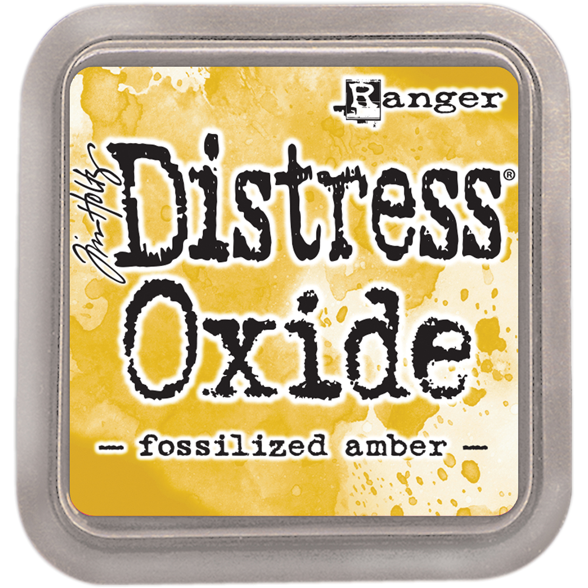 Tim Holtz Distress Oxides Ink Pad-Fossilized Amber