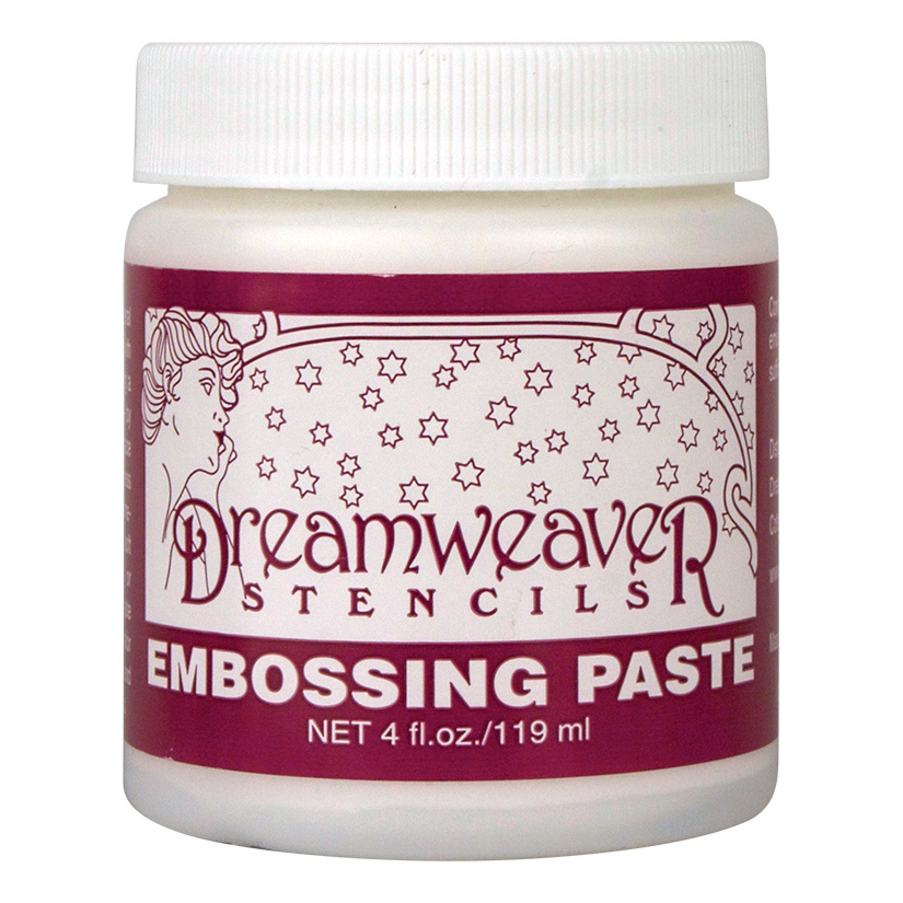 Dreamweaver Embossing Paste 4oz-Regular
