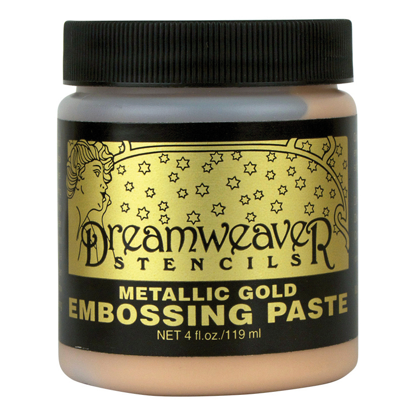 Dreamweaver Metallic Gold Embossing Paste, 119ml