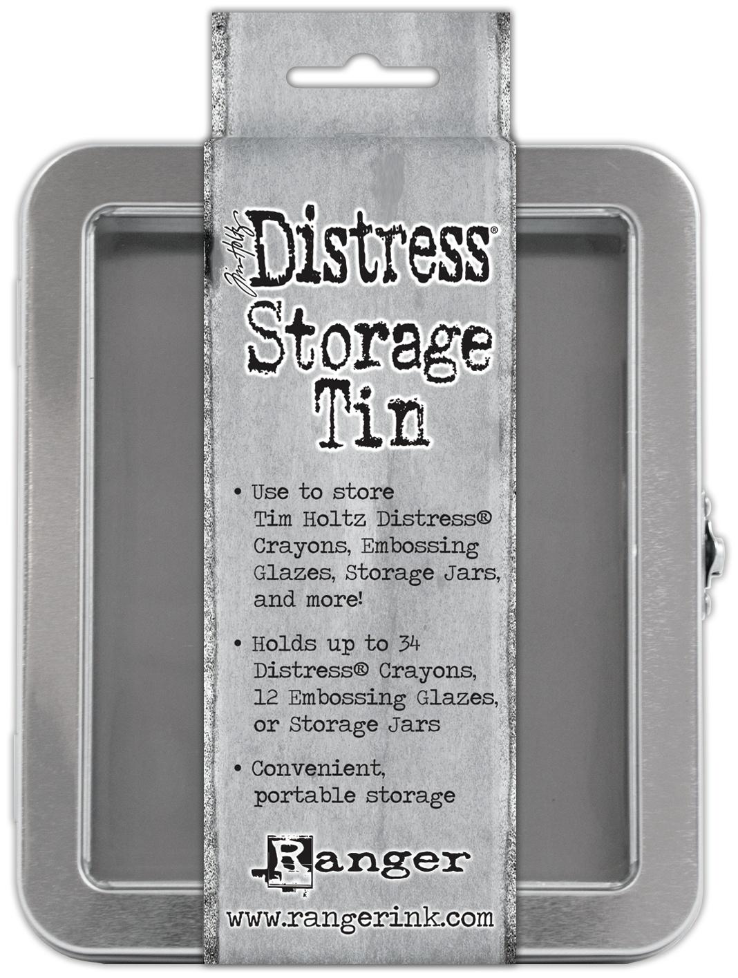 Tim Holtz Distress Crayon Tin - Empty-
