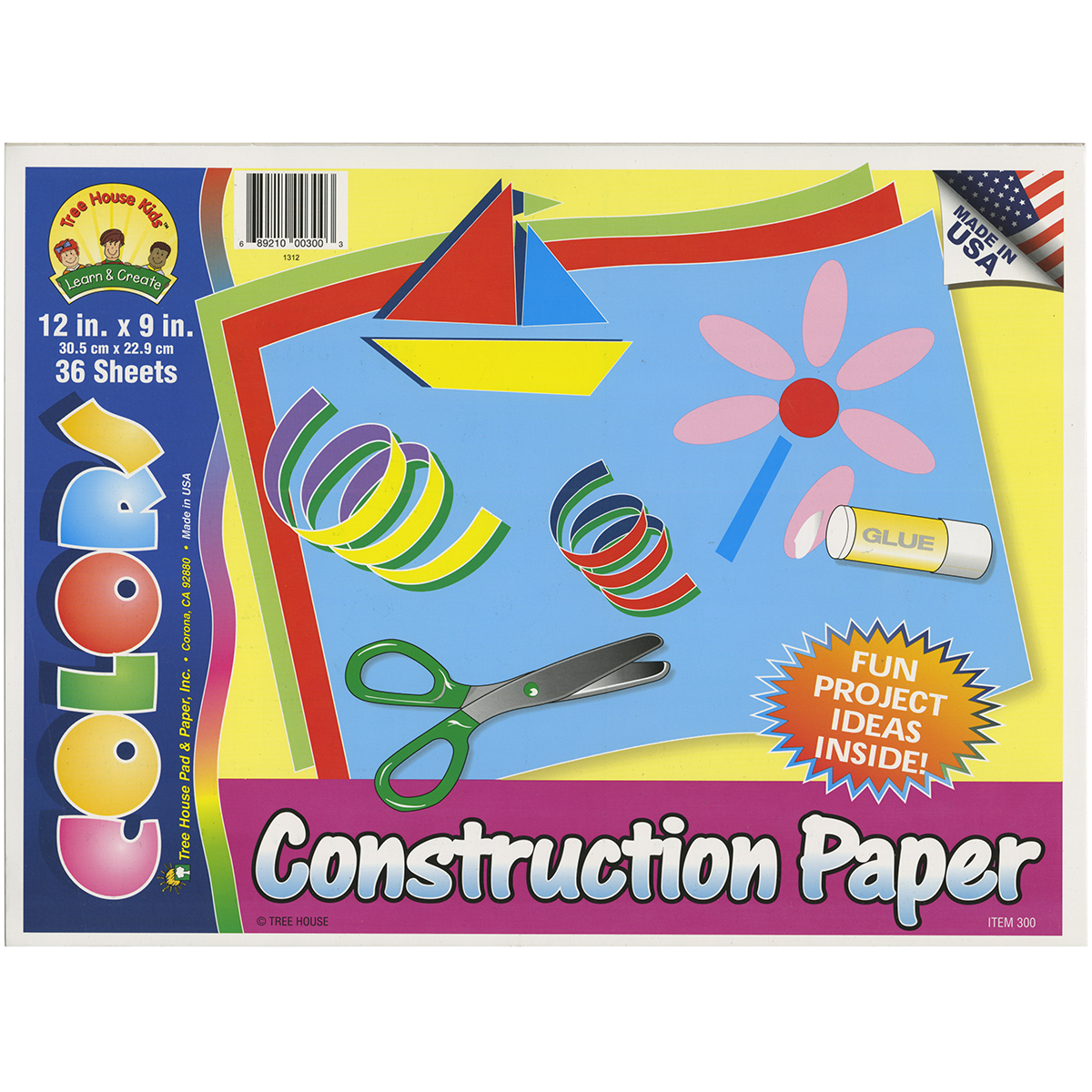 ASSORTED  -CONSTRUCTION PAD 36P