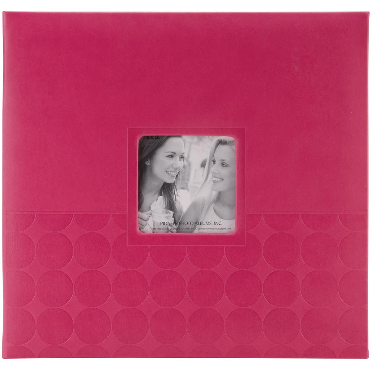 PINK      -EMBOSSED ALBUM 12X12