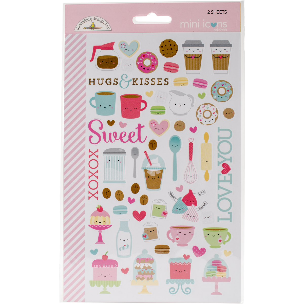 Cream & Sugar Stickers-Mini Icons