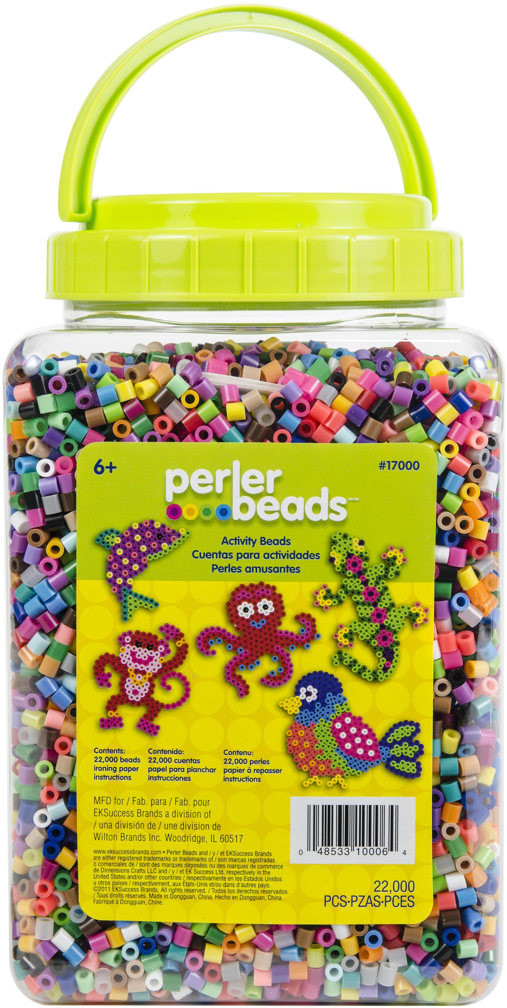 Perler Fused Beads 22,000/Pkg-Multicolor