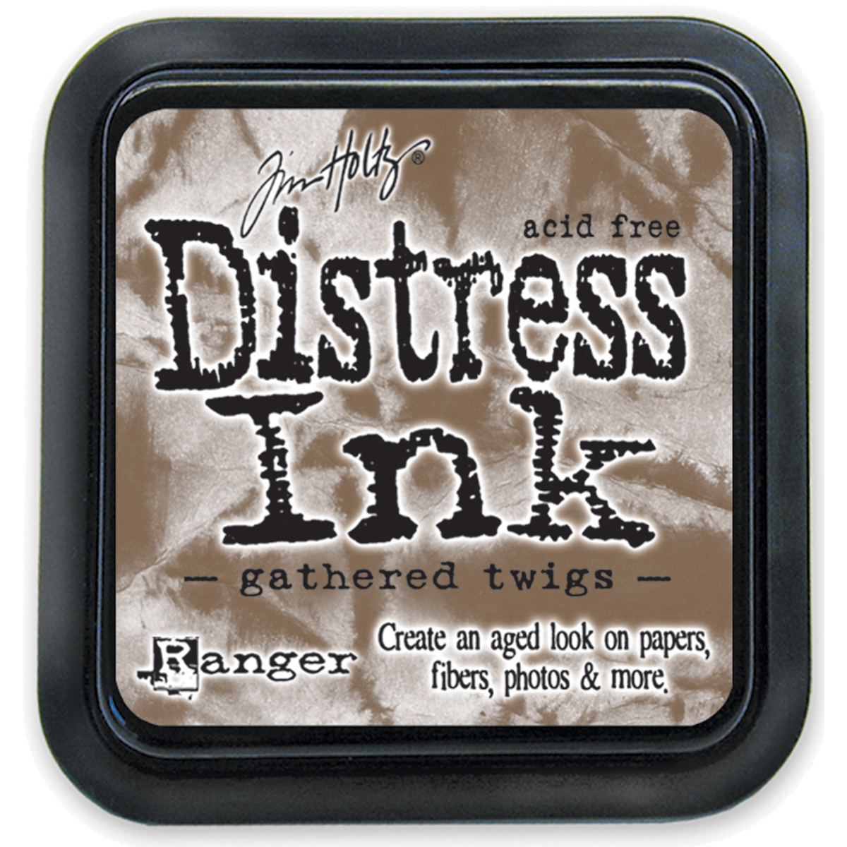 Tim Holtz Distress Ink Pad-Gathered Twigs