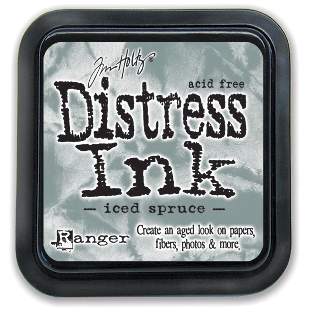 Tim Holtz Distress Ink Pad-Iced Spruce