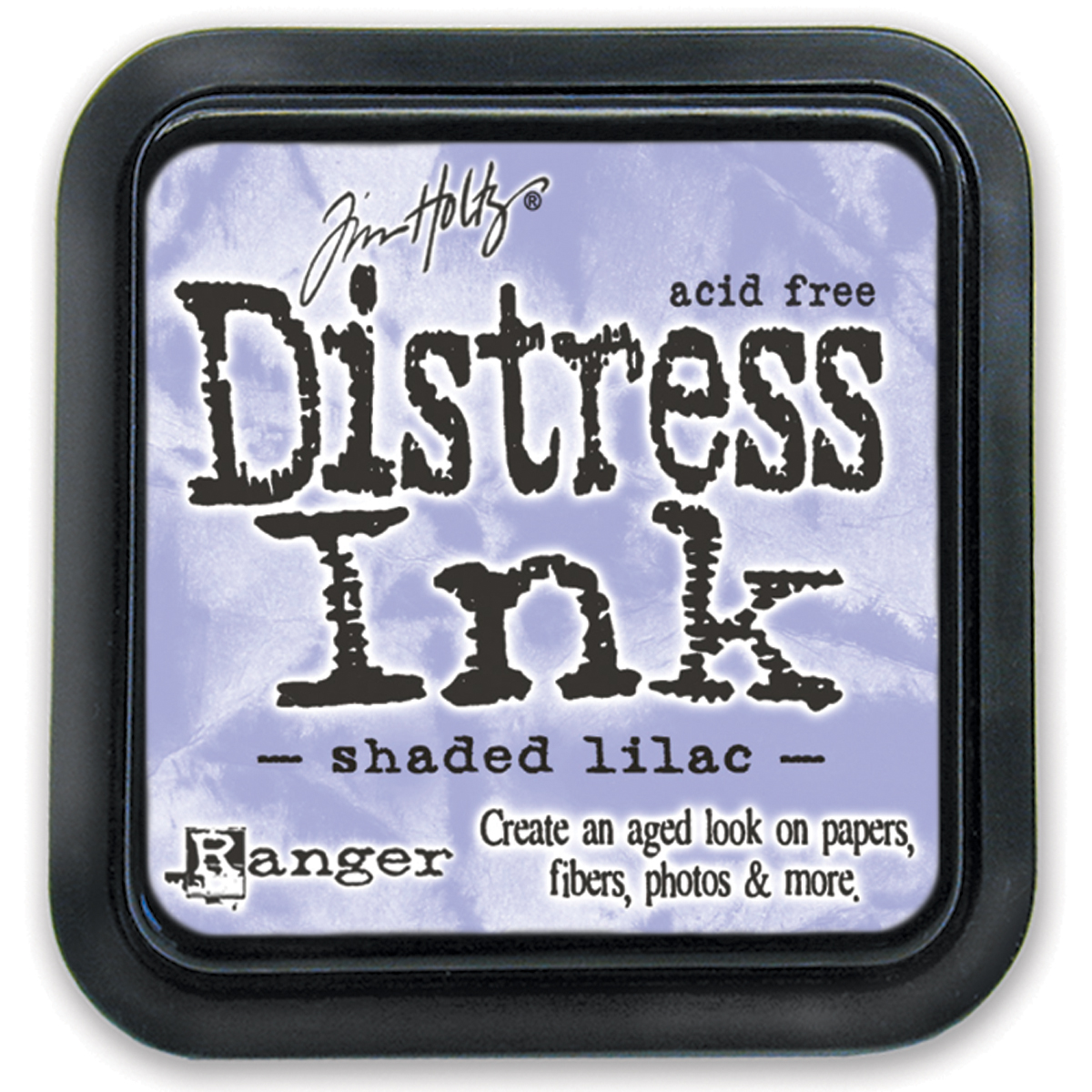 Tim Holtz Distress Ink Pad shaded lilac