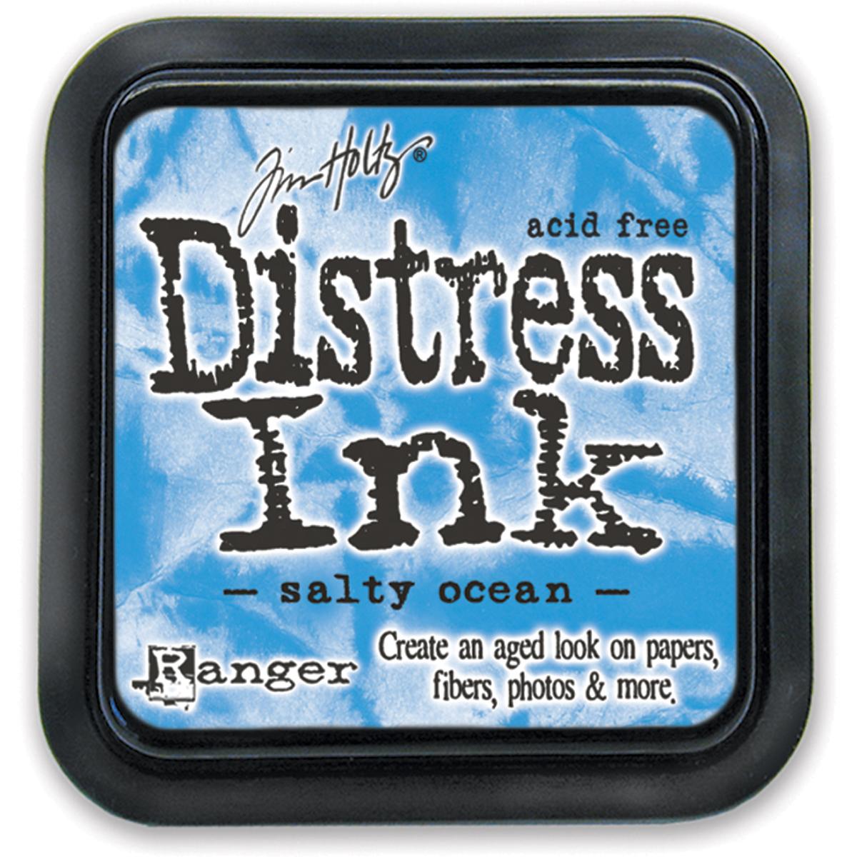 Tim Holtz Distress Ink Pad-Salty Ocean