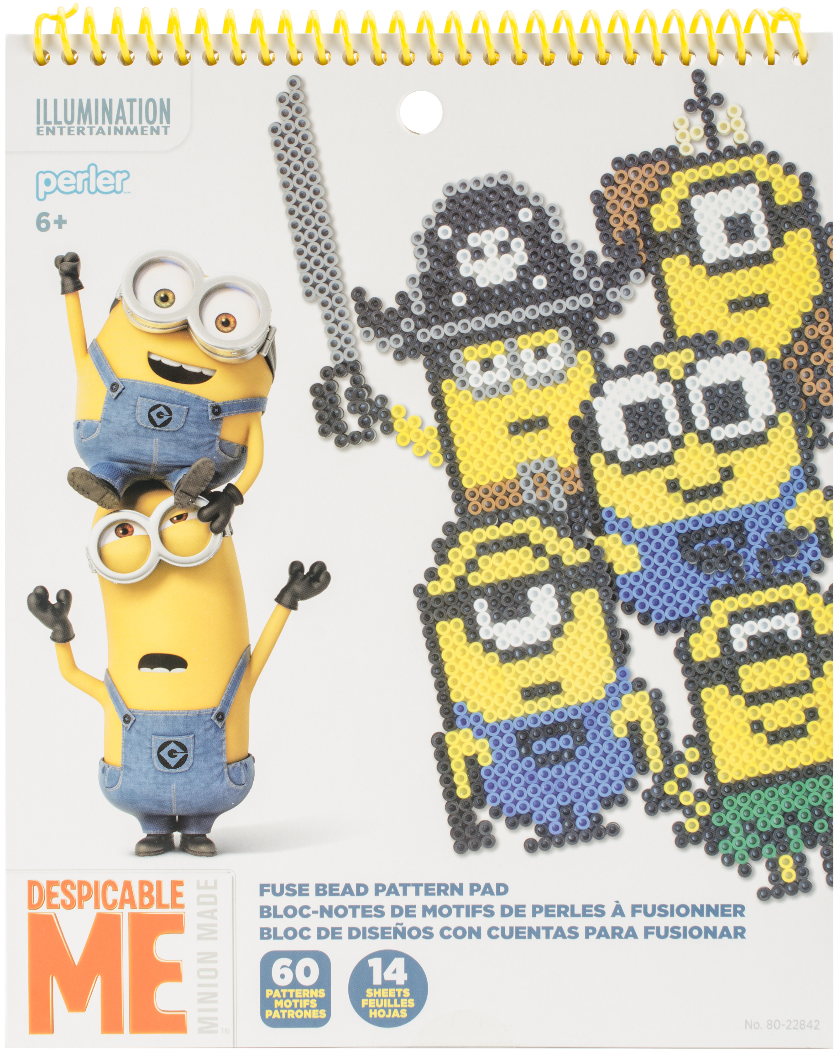 Perler Despicable Me 3 Fused Bead Pattern Pad-