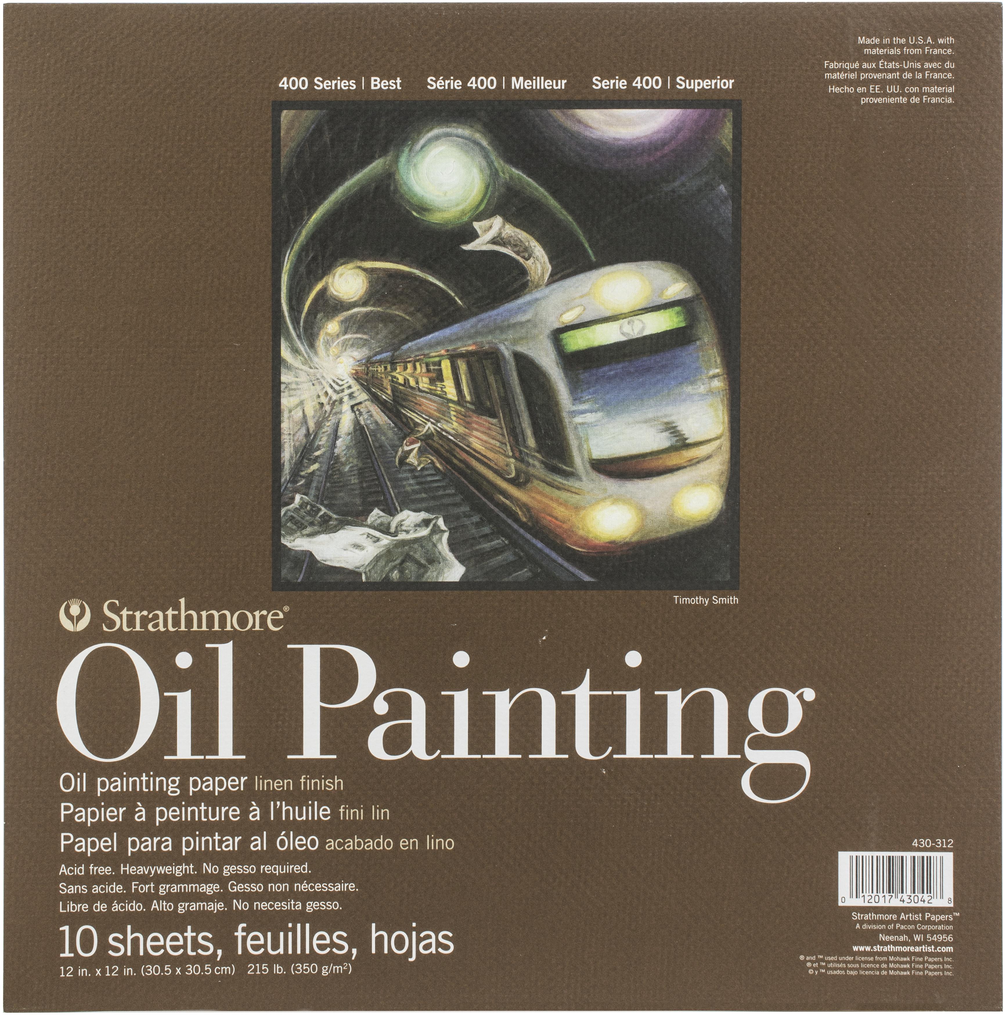 OIL 400 PAD 12X12 10 SHEETS
