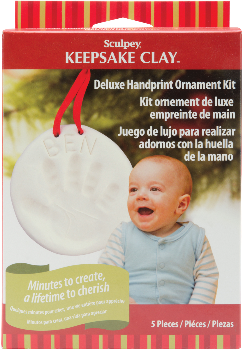 Sculpey Keepsake Kit-Handprint Ornament