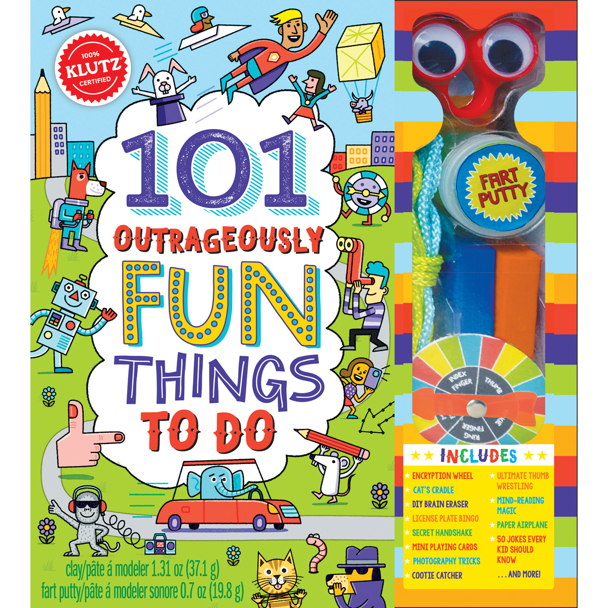 101 Outrageously Fun Things To Do Kit-