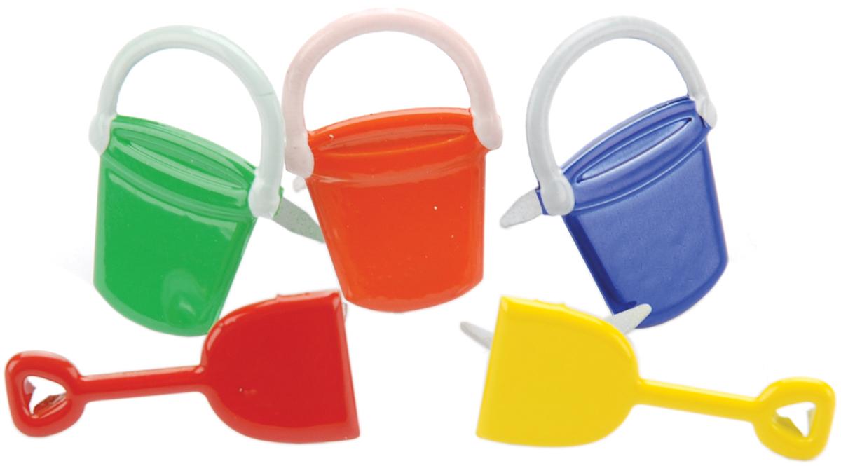 Brads - Buckets & Shovel