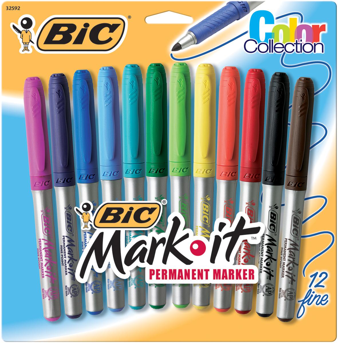 Bic Mark-It Fine Point Marker Set