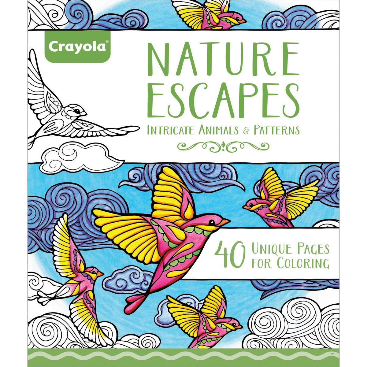 NATURE ESCAPE -CRAYOLA COLORING BOOK
