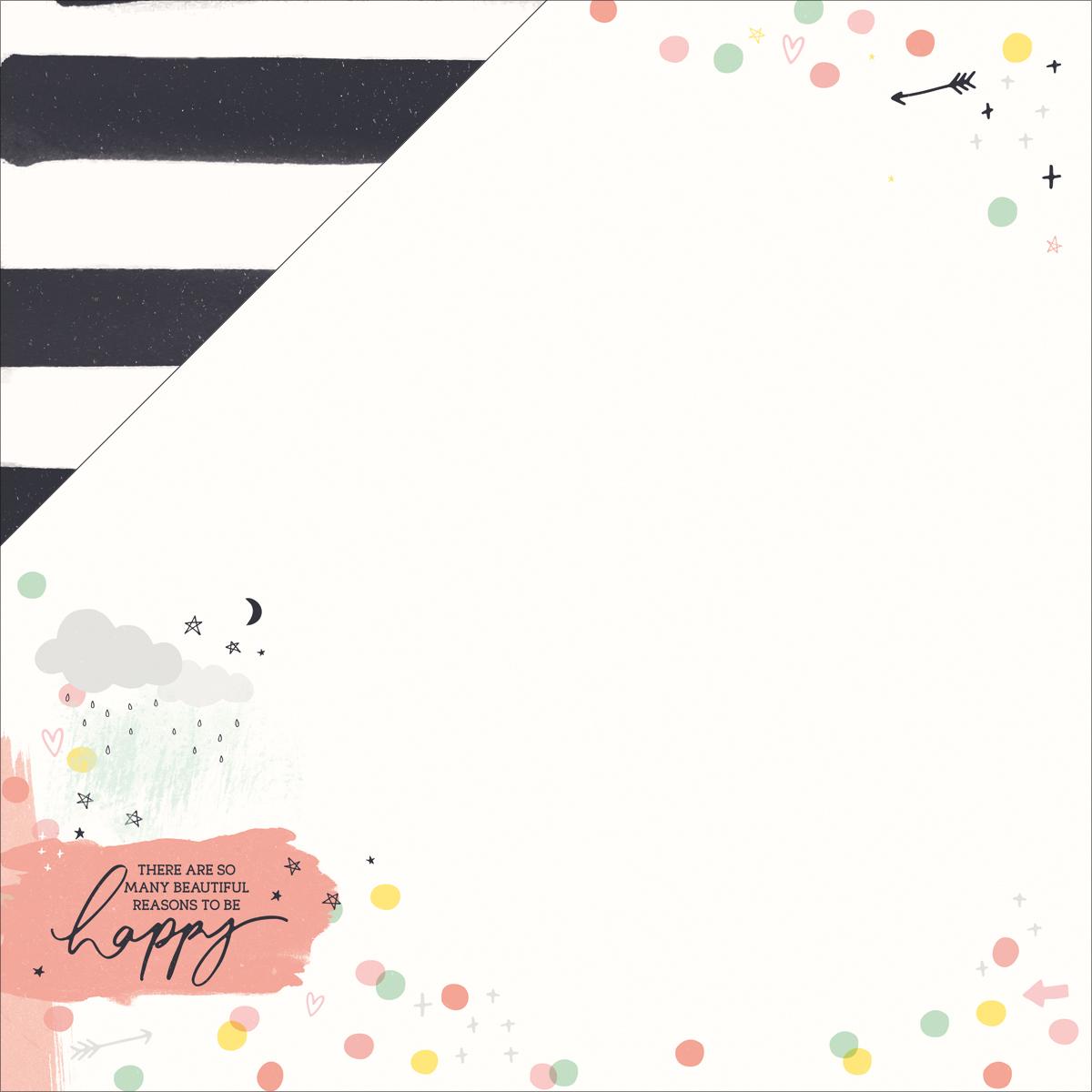 Daydreamer Cute 12x12 Paper