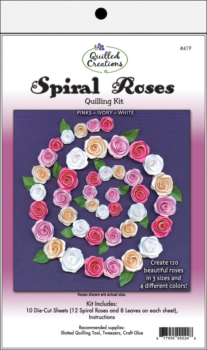 Quilling Kit Spiral Roses