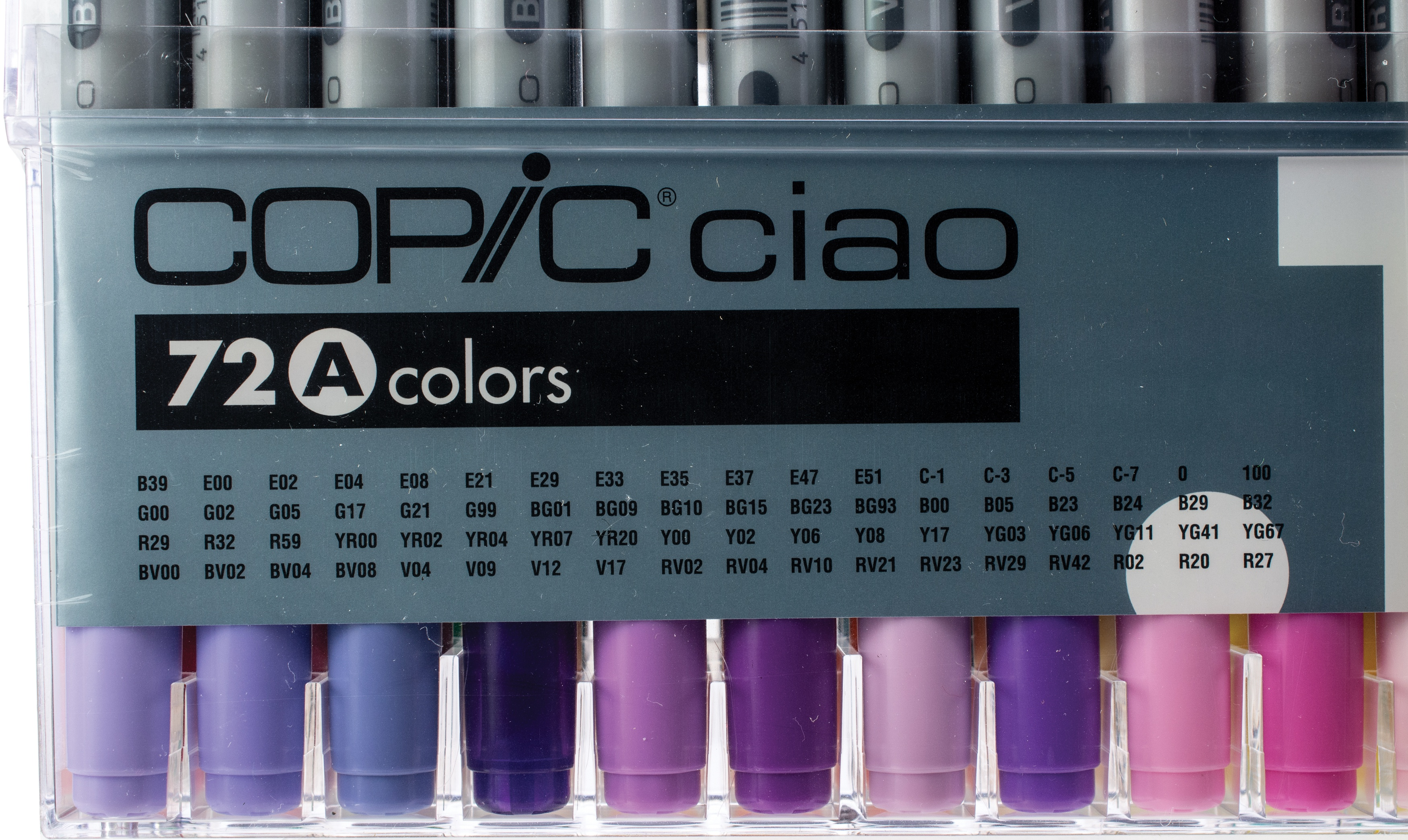 Copic Ciao Markers Set 72/Pkg-Set A