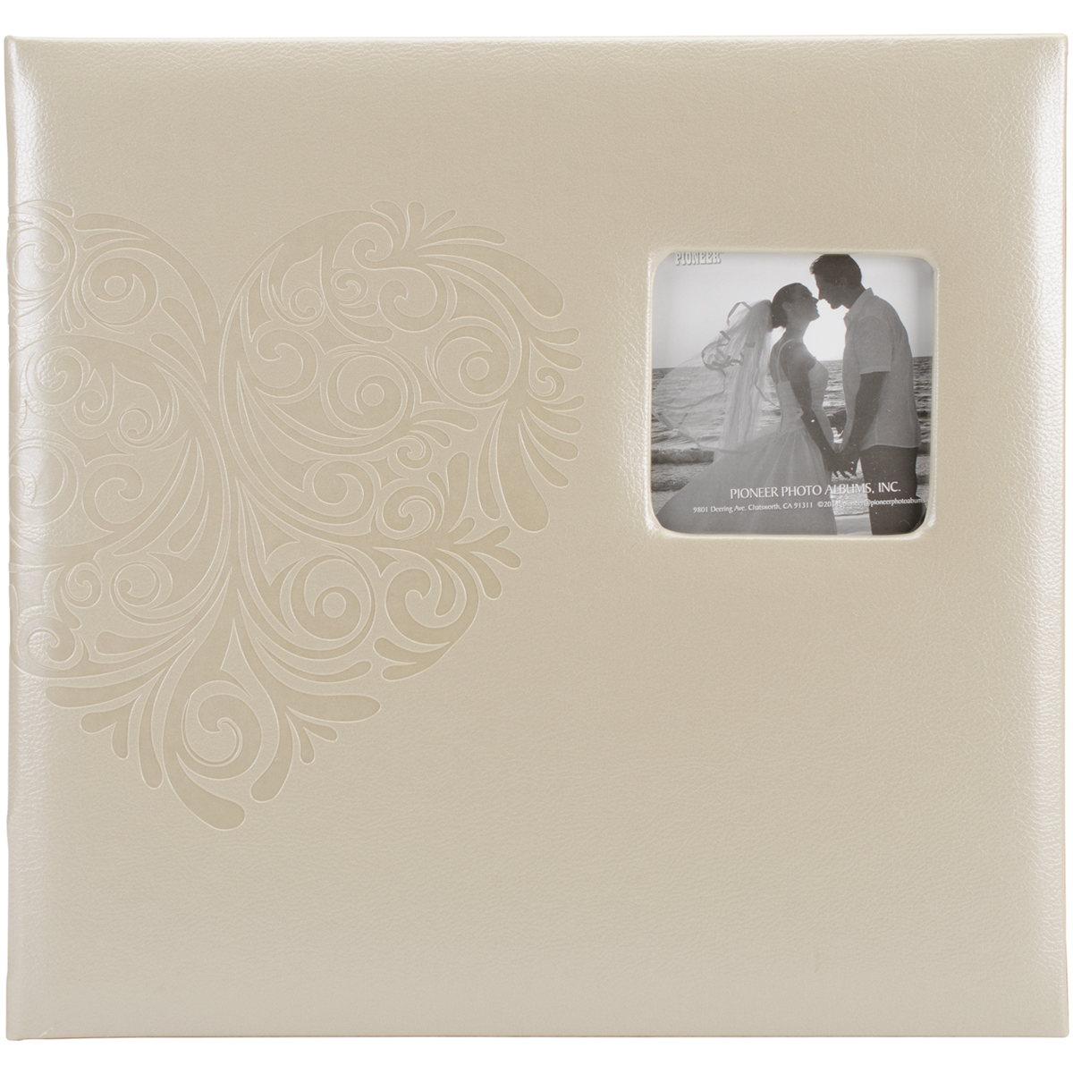 Embossed Wedding Post Bound Album