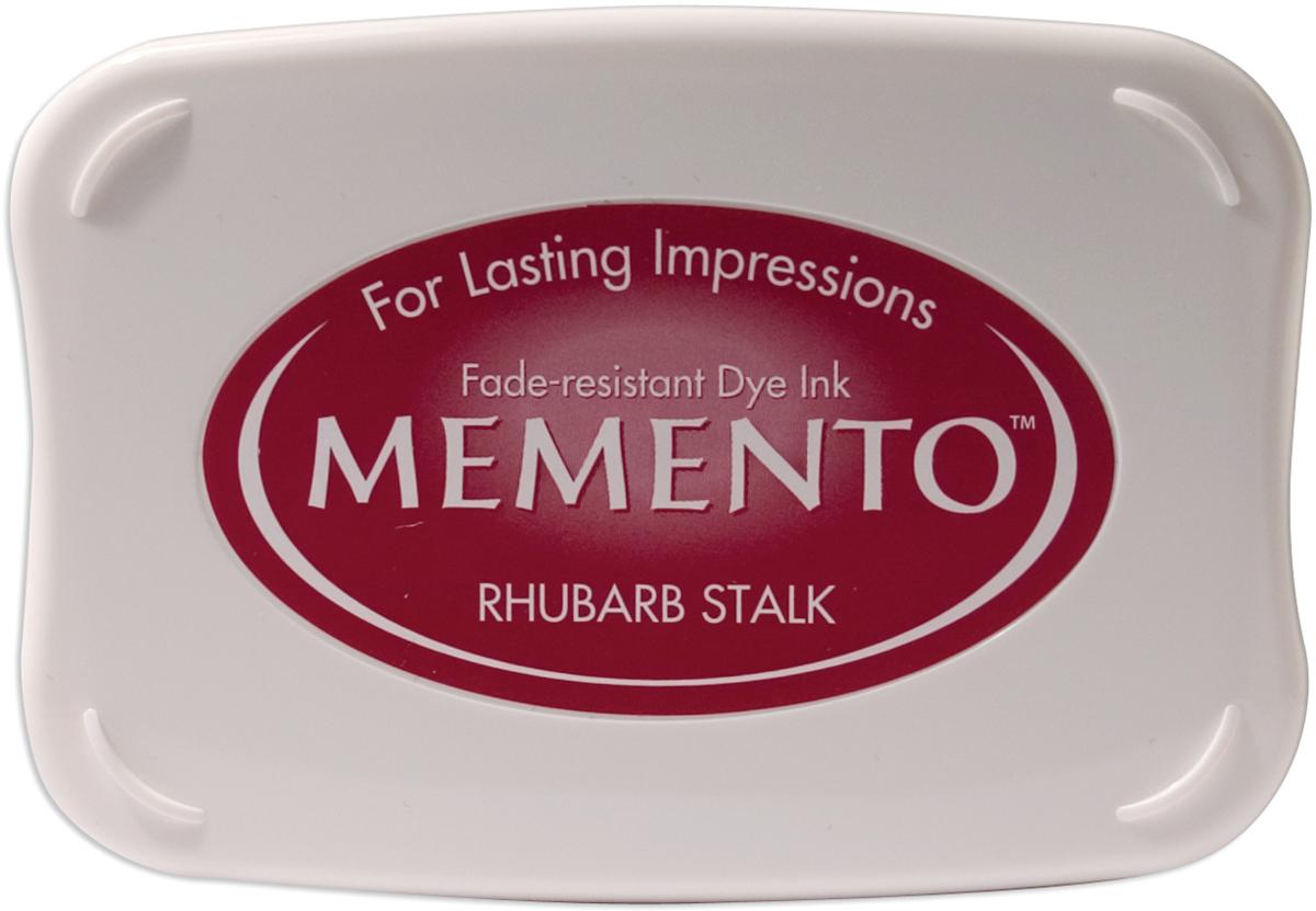Memento Dye Ink Pad-Rhubarb