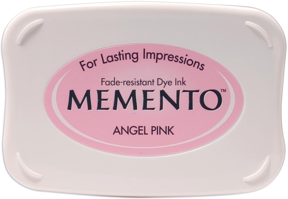 Memento Dye Ink Pad-Angel Pink